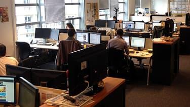 L'open-space, vecteur d'amitiés au travail selon un sondage OpinionWay publié le 3 décembre 2013