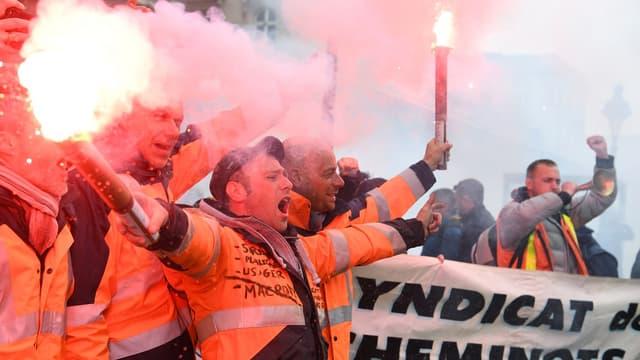 Les cheminots entament leur grève dans cinq jours.