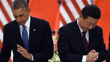 Barack Obama et Xi Jinping