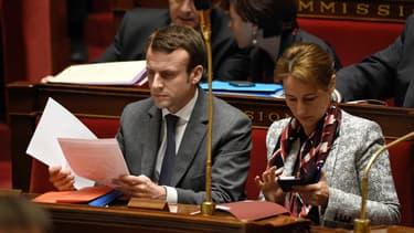 Les ministres Ségolène Royal et Emmanuel Macron sont en désaccord sur les options envisagées pour améliorer la coopération entre EDF et Areva