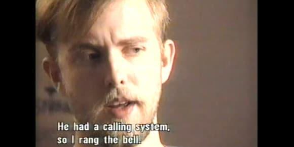Images tirée d'un documentaire consacré à Vag Vikernes.