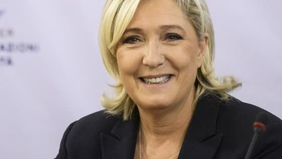 Marine Le Pen le 16 novembre 2018 en Bulgarie