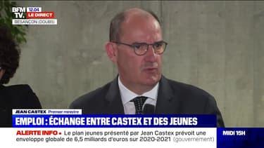 Emploi des jeunes: Jean Castex annonce un plan de 6,5 milliards d'euros
