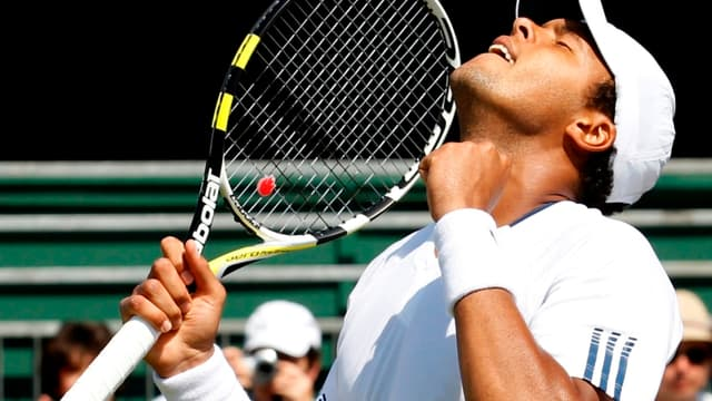 Jo-Wilfried Tsonga s'est qualifié pour la finale du Queen's.