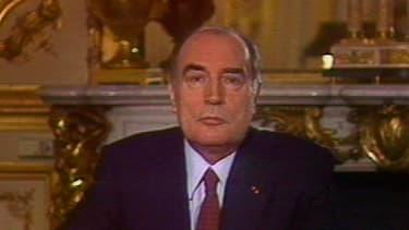 Les premiers voeux de François Mitterrand, en 1981