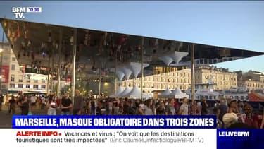 À Marseille, le port du masque est désormais obligatoire dans trois quartiers de la ville