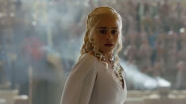 Image extraite de la bande annonce de Game of Thrones, saison 5, dévoilée pendant la keynote d'Apple lundi.