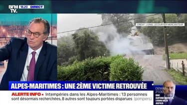 Intempéries dans les Alpes-Maritimes: toujours l'inquiétude - 04/10