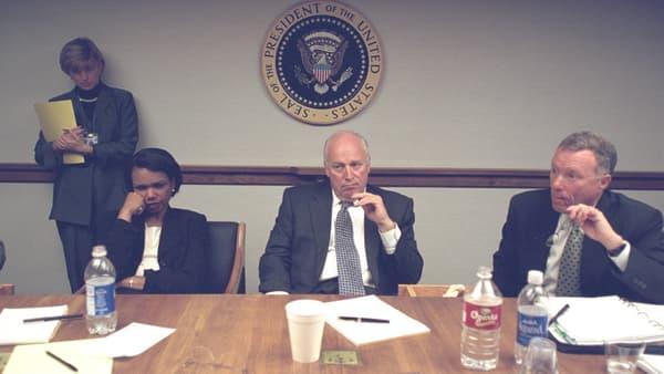 Condoleezza Rice et Dick Cheney