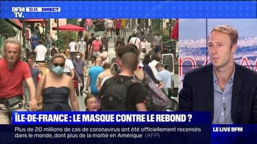 Île-de-France : le masque contre le rebond ? (2) - 11/08