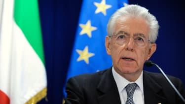Mario Monti a mis en place une politique de rigueur
