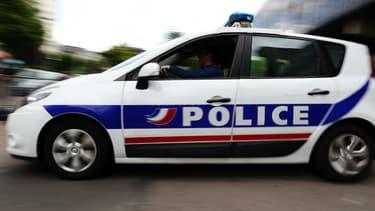 Voiture de police. Photo d'illustration.