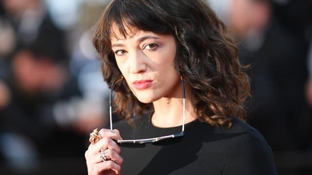 Asia Argento à Cannes en mai 2018.