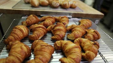 Des croissants (Photo d'illustration)