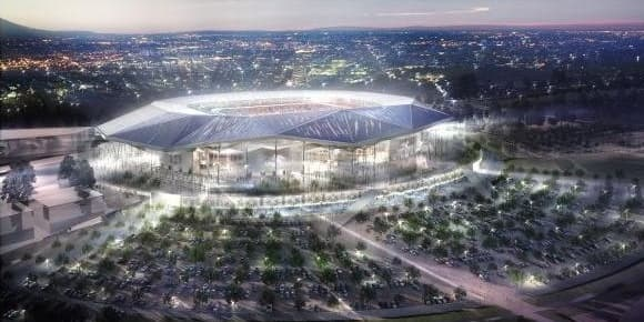 Le nouveau stade Lyonnais prévoit d'acceuillir 58.000 places.