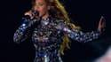 Beyoncé, le 24 août 2014, aux MTV Video Music Awards à Inglewood.