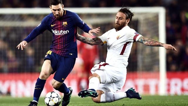 Messi face à De Rossi