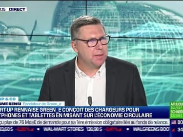 Start up & co : La société rennaise Green-e conçoit des chargeurs pour smartphones et tablettes en misant sur l'économie circulaire - 15/06