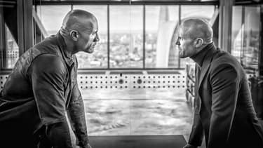The Rock et Jason Statham dans Hobbs and Shaw