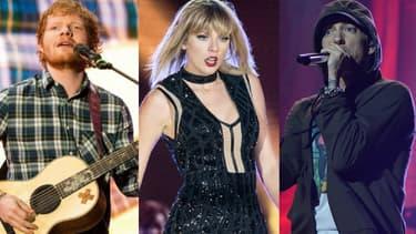 Ed Sheeran, Taylor Swift et Eminem parmi les plus gros vendeurs de disques en 2017