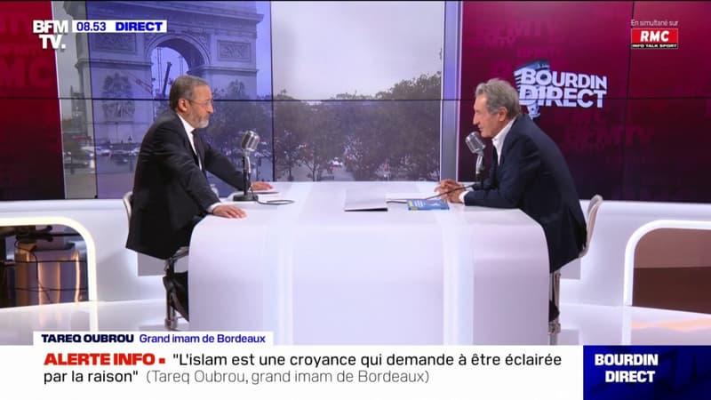 """Secret de la confession: pour Tareq Oubrou, grand imam de Bordeaux, seule """"la loi de la République s'impose"""""""
