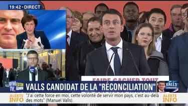 """Candidature de Valls: """"J'ai entendu le discours d'un homme d'État"""", Luc Carvounas"""