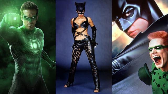 Green Lantern, Catwoman et Batman Forever