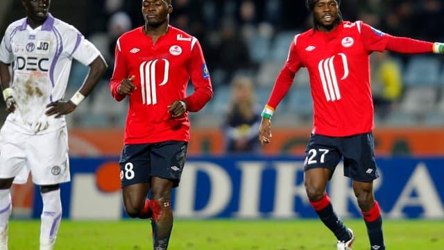Gervinho et Moussa Sow