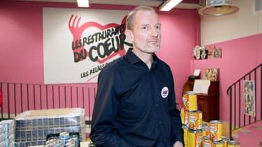 Olivier Berthe, le président des Restos du coeur
