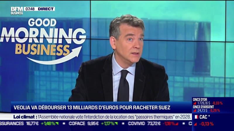Arnaud Montebourg: le rachat de Suez par Veolia