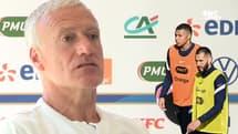 Équipe de France : Les réflexions de Deschamps sur sa compo offensive pour l'Euro