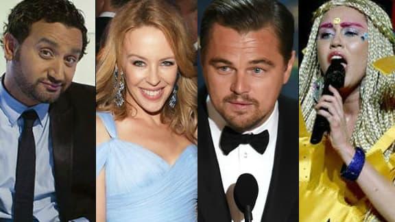 Cyril Hanouna, Kylie Minogue, Leonardo DiCaprio et Miley Cyrus au coeur de l'actualité