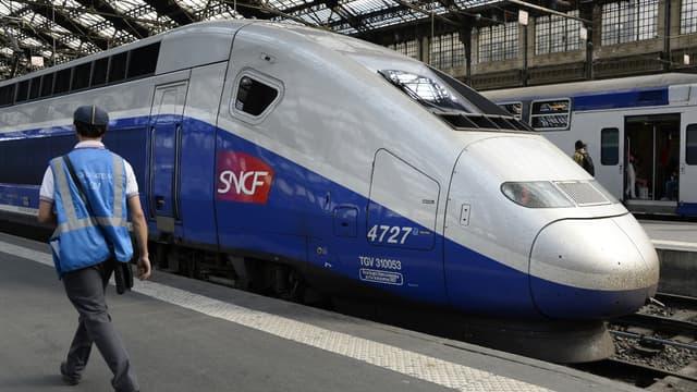 La jeune fille se trouvait à bord d'un Paris-Montpellier (photo d'illustration)