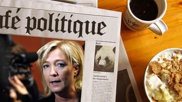 La présidente du Front national, Marine Le Pen, s'est cassé le sacrum lors d'un accident de piscine.