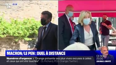 Emmanuel Macron et Marine Le Pen à la rencontre des Français