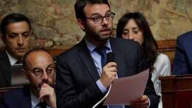 Stephane Trompille, député LaREM, à l'Assemblée nationale le 26 juin 2018.
