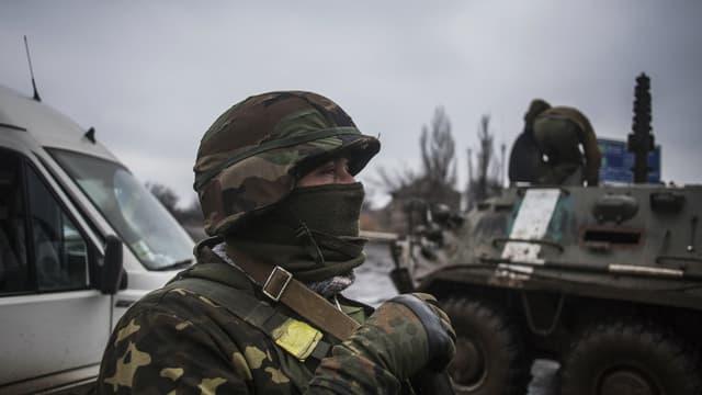 Un soldat de l'armée ukrainienne, à Donetsk (photo d'illustration).