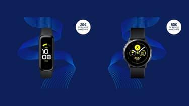 Samsung : les montres connectées Galaxy Watch voient leur prix chuter
