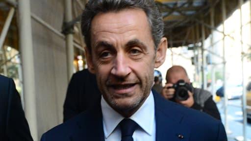 Nicolas Sarkozy est ce lundi à Londres pour donner une conférence sur la politique européenne.
