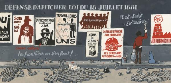 """Illustration de Jacques Tardi pour """"Chacun de vous est concerné"""""""