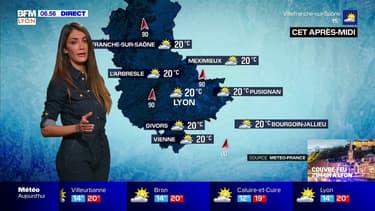 Météo Lyon: une belle journée mais de puissantes rafales de vent jusqu'à 90 km/h
