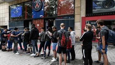 La boutique du PSG bientôt prise d'assaut?