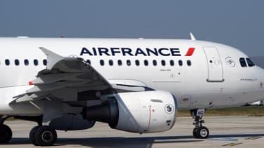 Air France est l'une des nombreuses compagnies à avoir décidé de suspendre ses vols vers Israël, le 22 juillet 2014.
