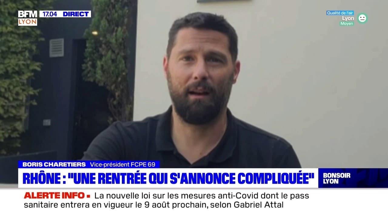 """Rhône : """"une rentrée qui s'annonce compliquée"""""""