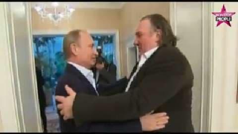 Gérard Depardieu ne paye que 6 % d'impôts en Russie
