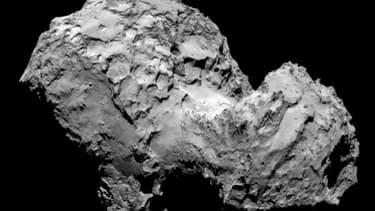 La comète Tchouri prise en photographie le 4 mars 2014 / Image d'illustration