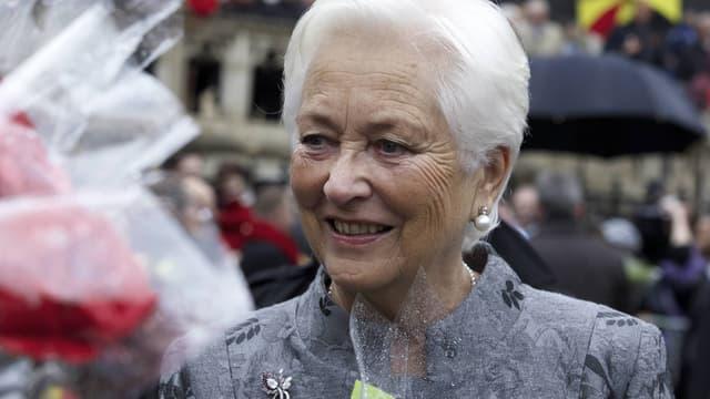 La reine Paola en novembre 2014