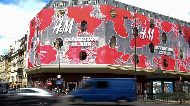 H&M compte beaucoup sur son magasin amiral pour relancer ses ventes en France.