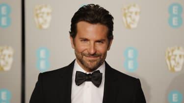 Bradley Cooper lors de la cérémonie des Bafta, en février 2019.