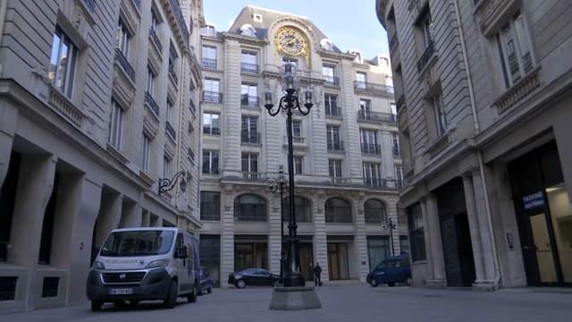 Le pôle financier du tribunal de Paris a été évacué.